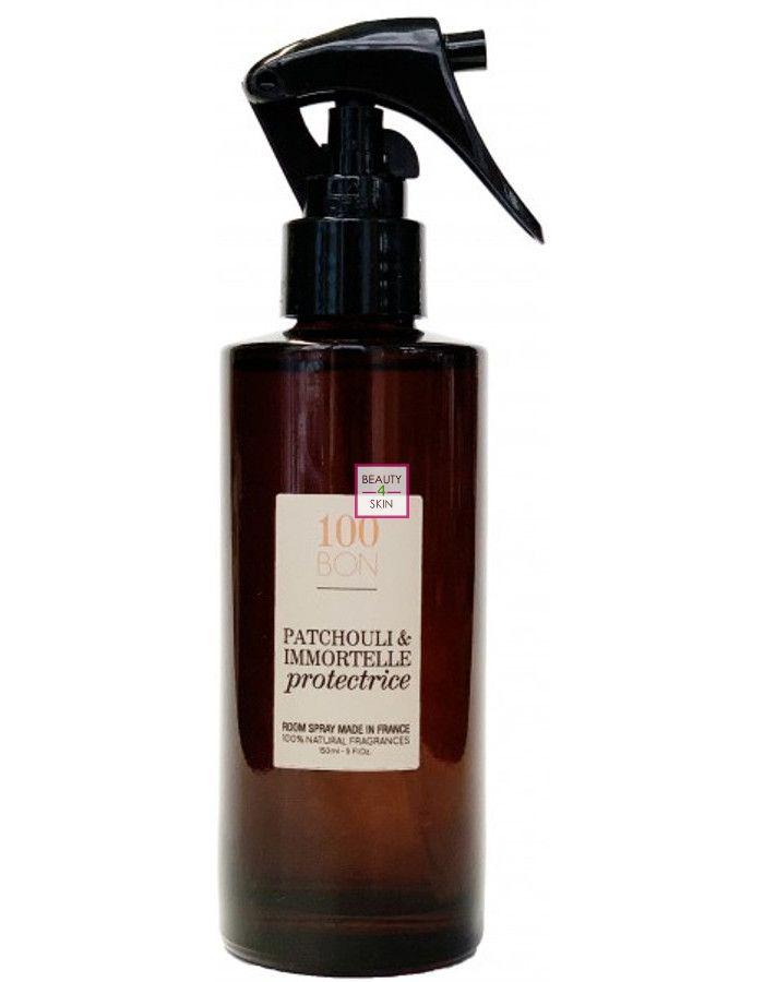 100bon Patchouli Immortelle Protectrice Home Spray 150ml 3760284202756 Beauty4skin Nl Is Een Website Vol Passie Voor Natuurlijke Biologische En Zuivere Huidverzorging En Cosmetica Snelle Levering Deskundig Advies Betrouwbaar En Voordelig