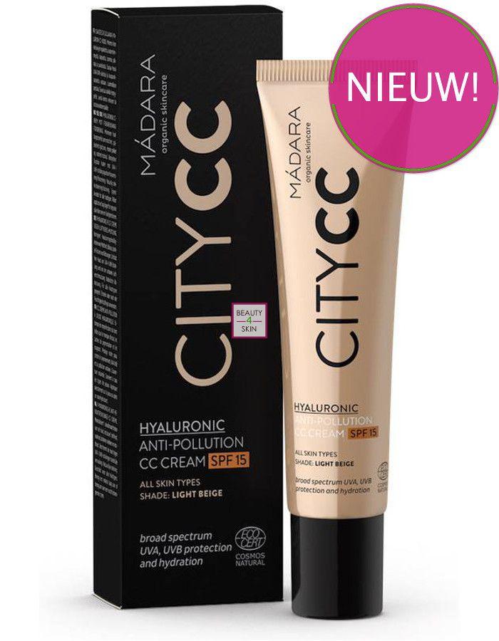 Madara Hyaluronic Anti-Pollution CC Cream Spf15 Light Beige 4751009828800 bestel je snel, veilig en goedkoop online bij Beauty4skin.nl
