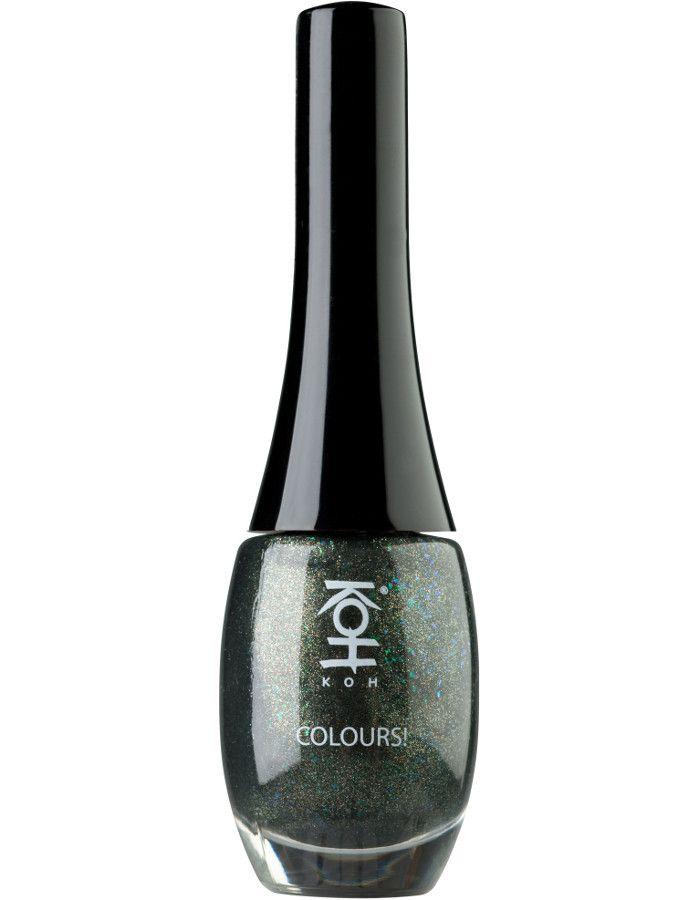 Koh Colours Nagellak 201 Green Stardust 10ml
