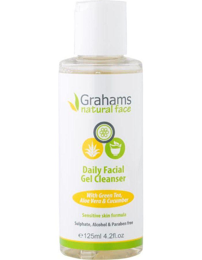 Grahams Daily Facial Gel Cleanser 125ml