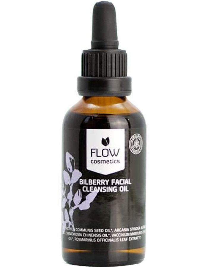 Flow Cosmetics Organic Bilberry Gezichtsreinigingsolie 50ml
