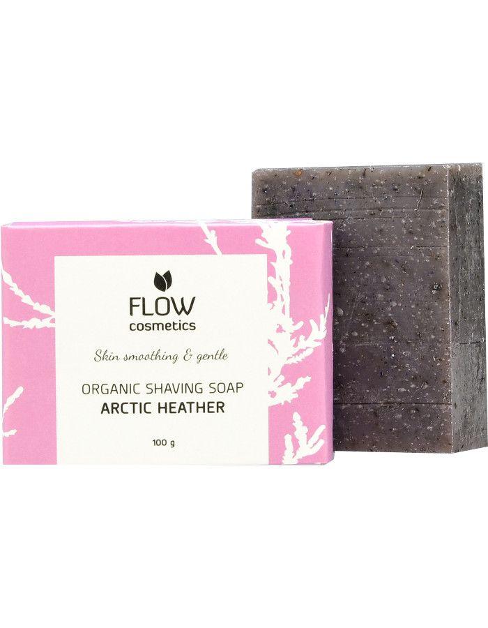 Flow Cosmetics Organic Shaving Soap Artic Heather 100gr