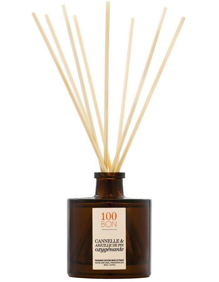 100Bon Cannelle & Aiguille De Pin Oxygenante Fragrance Diffuser 100ml