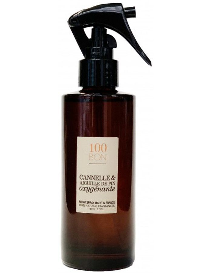 100Bon Cannelle & Aiguille De Pin Oxygenante Home Spray 150ml
