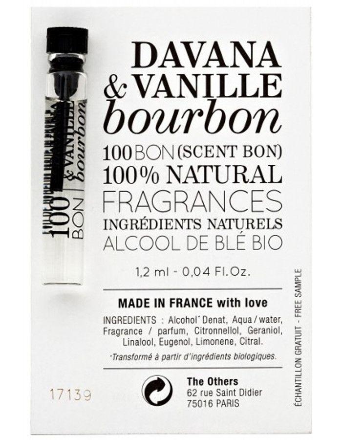 100Bon Davana & Vanille Bourbon Eau De Toilette Sample