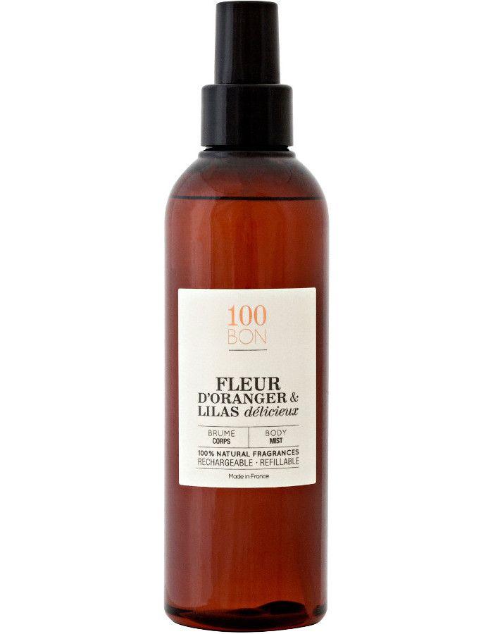 100Bon Fleur D'Oranger & Lilas Delicieux Delicieux Body Mist 200ml