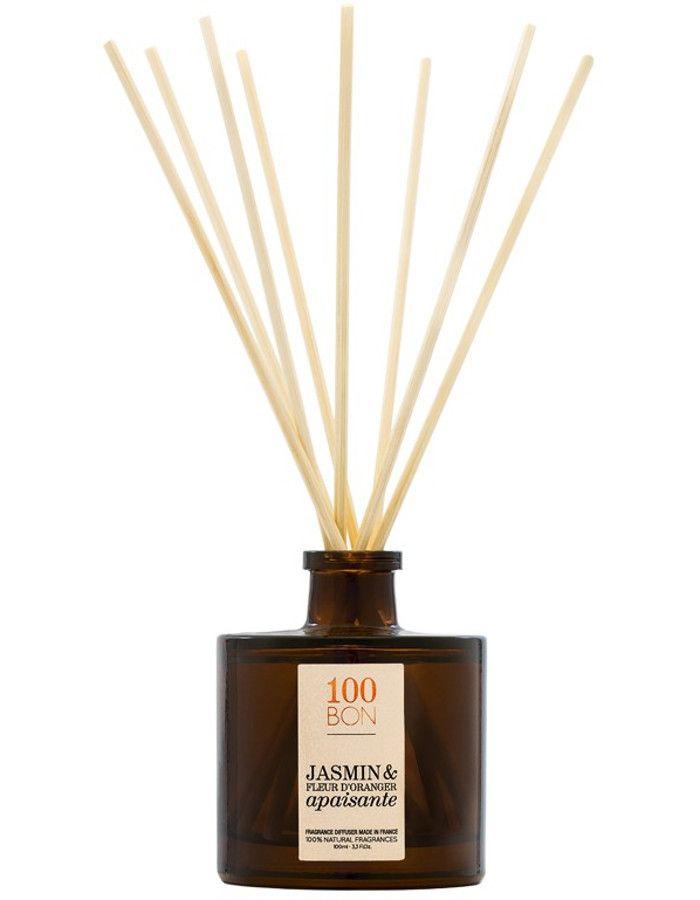 100Bon Jasmin & Fleur D'Oranger Apaisante Fragrance Diffuser 100ml