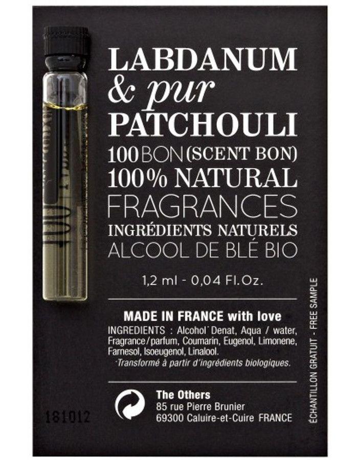 100Bon Labdanum & Pur Patchouli Eau De Parfum Sample