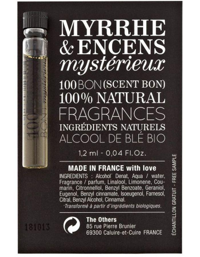 100Bon Myrrhe & Encens Mysterieux Eau De Parfum Sample