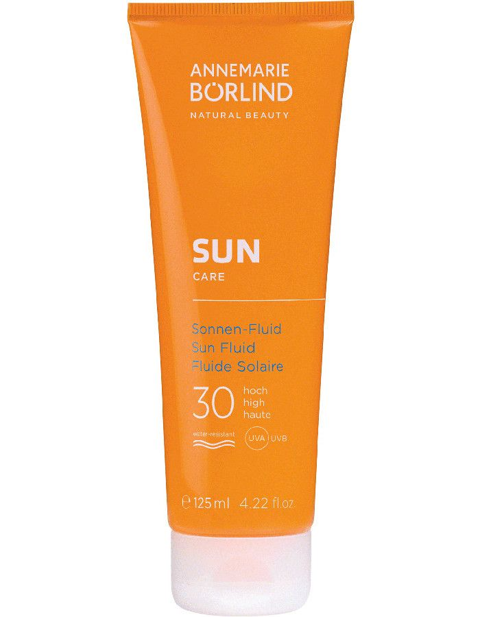 Annemarie Borlind Vegan Zonnebrand Fluid Spf30 125ml