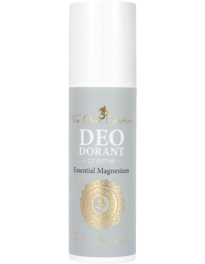 The Ohm Collection Vegan Deodorant Crème Essential Magnesium 50ml