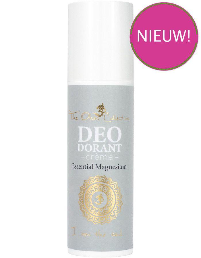 The Ohm Collection Vegan Deodorant Crème Essential Magnesium 50ml