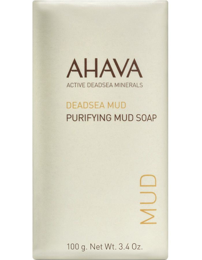 Ahava Deadsea Mud Purifying Modder Zeep 100gr