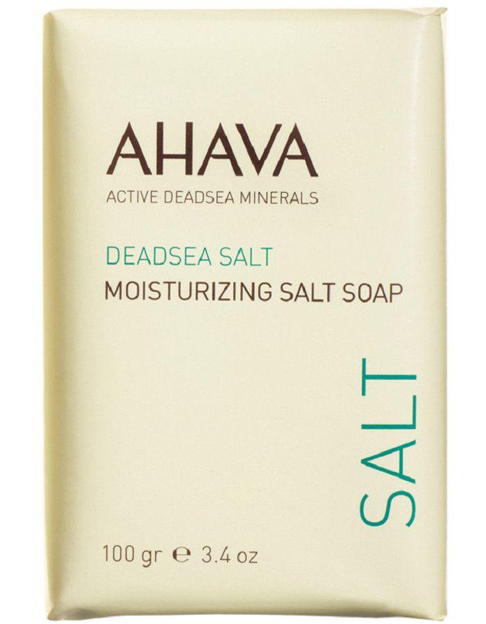 Ahava Deadsea Salt Moisturizing Salt Soap Vochtregulerende Zeep 100gr