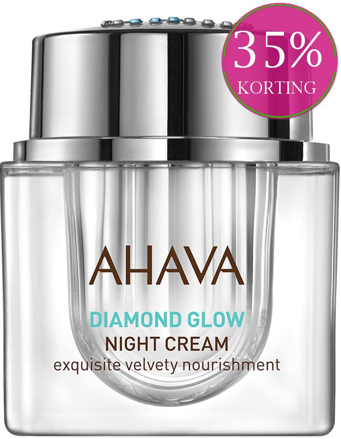 Ahava Diamond Glow Exquisite Velvety Nourishment Nachtcrème 50ml