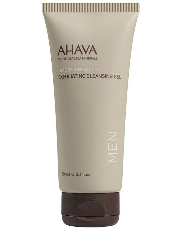 Ahava Men Time To Energize Exfoliating Cleansing Gel 100ml