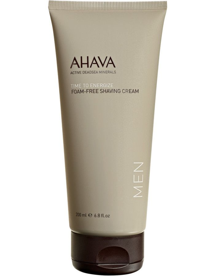 Ahava Men Time To Energize Foam Free Shaving Cream 200ml