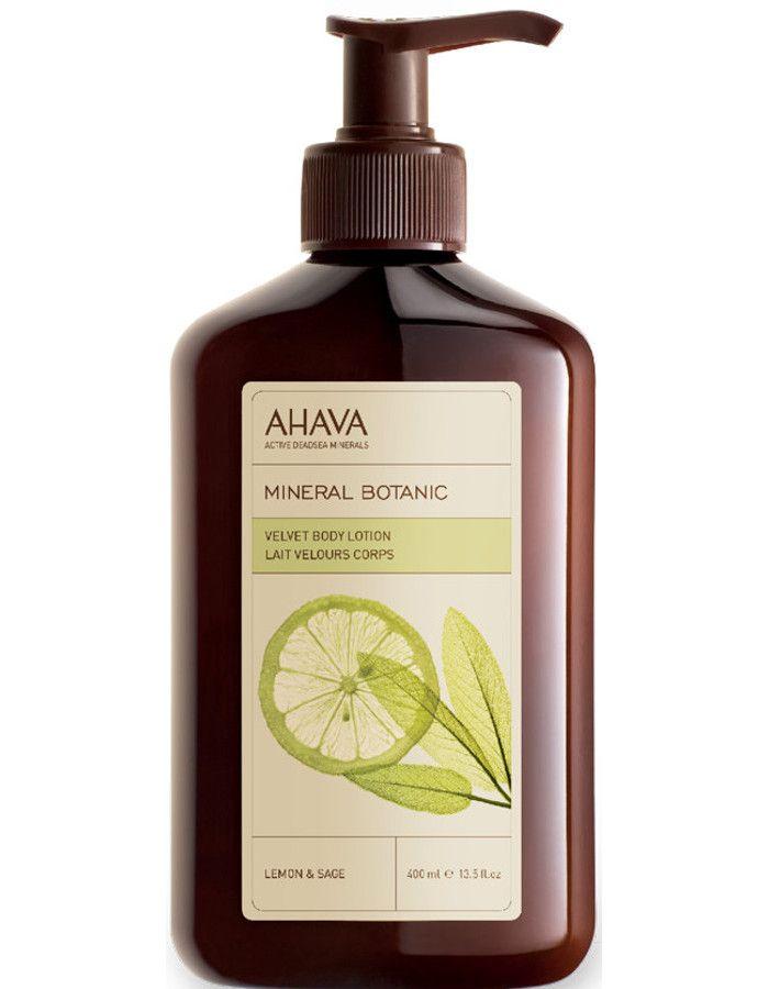 Ahava Mineral Botanic Velvet Bodylotion Lemon Sage 500ml