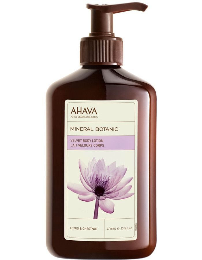 Ahava Mineral Botanic Velvet Bodylotion Lotus Chestnut 500ml