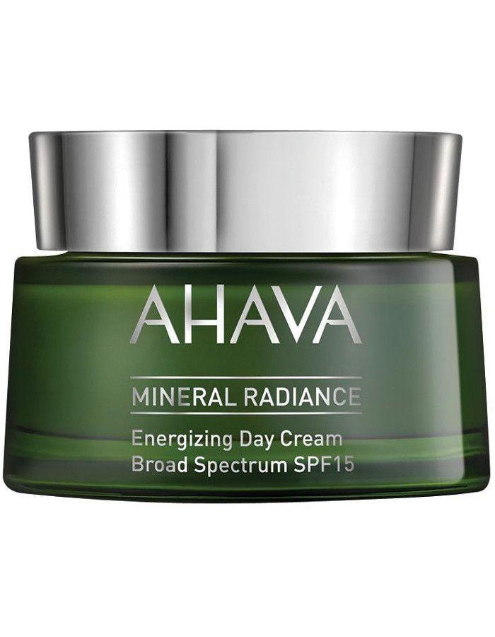 Ahava Mineral Radiance Energizing Daycream Broad Spectrum Spf15 50ml