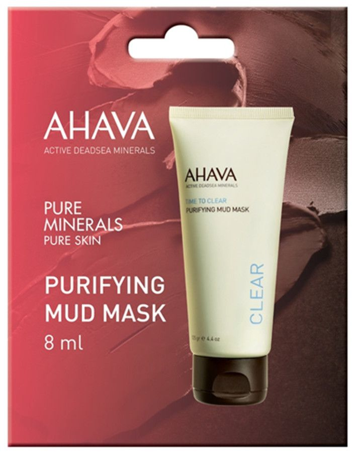 Ahava Time To Clear Purifying Mud Mask Probeerverpakking 8ml