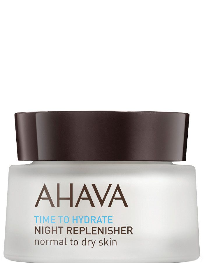 Ahava Time To Hydrate Night Replenisher Normaal-Droge Huid 50ml