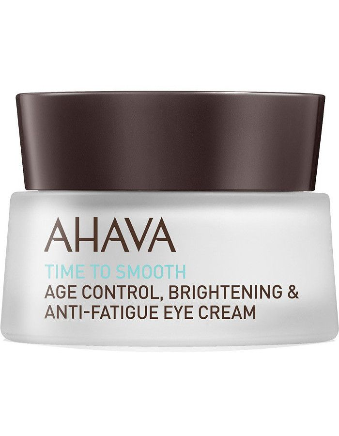 Ahava Time To Smooth Age Control Brightening Anti Fatique Eye Cream 15ml