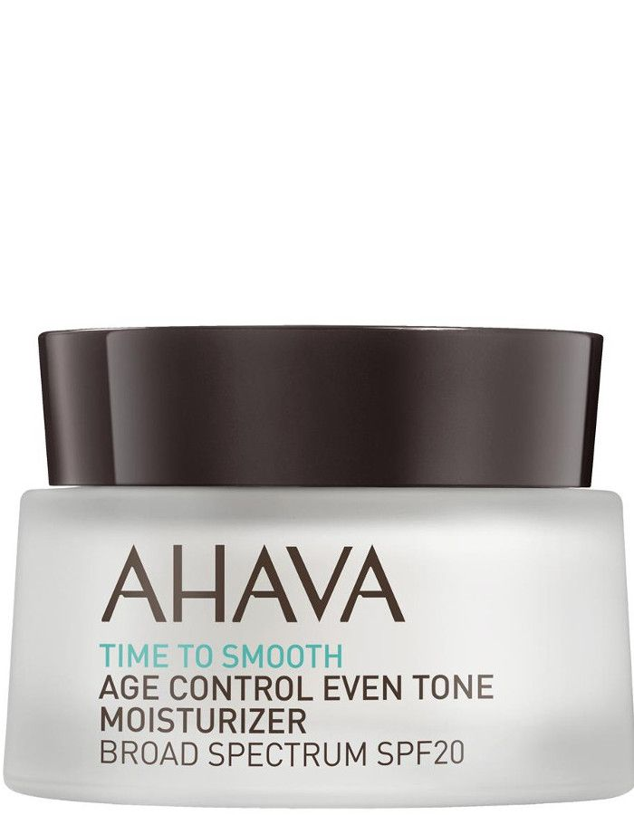 Ahava Time To Smooth Age Control Even Tone Moisturizer Broad Spectrum Spf20