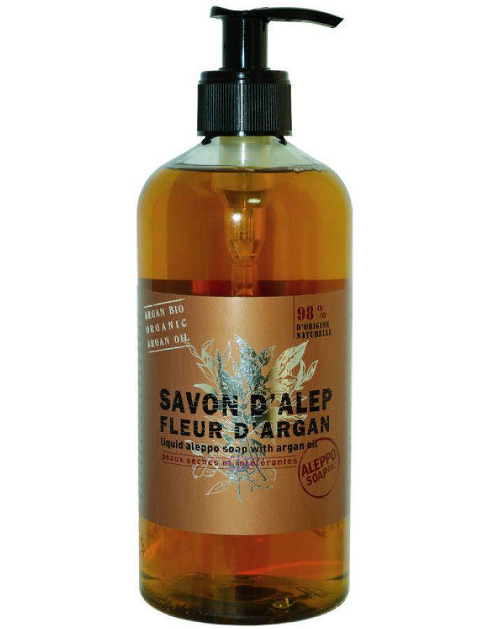 Aleppo Soap Company Vloeibare Aleppo Zeep Fleur D' Argan 500ml