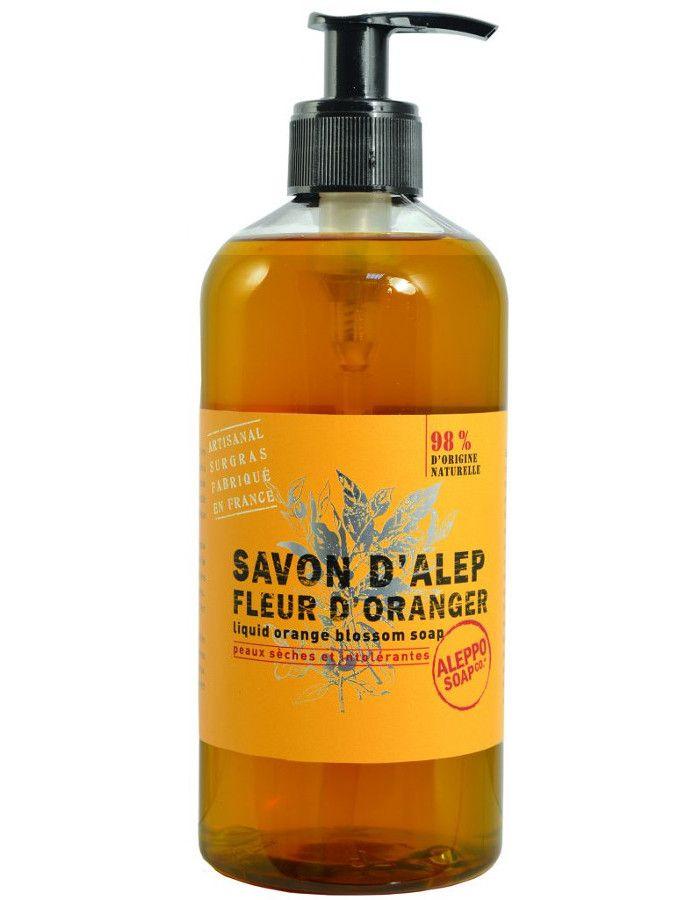 Aleppo Soap Company Vloeibare Aleppo Zeep Fleur D' Oranger 500ml