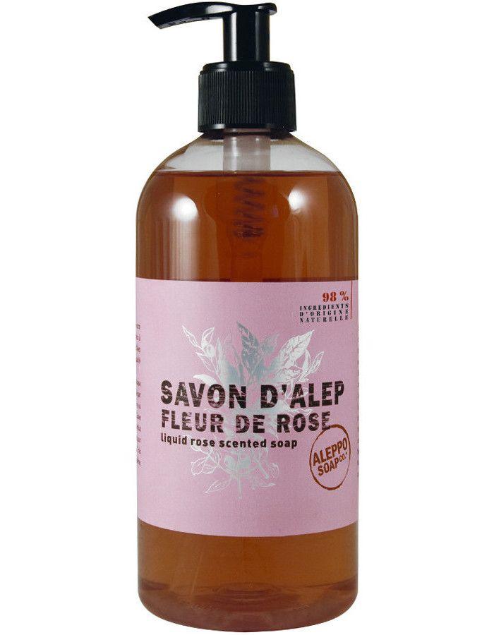 Aleppo Soap Company Vloeibare Aleppo Zeep Fleur De Rose 500ml