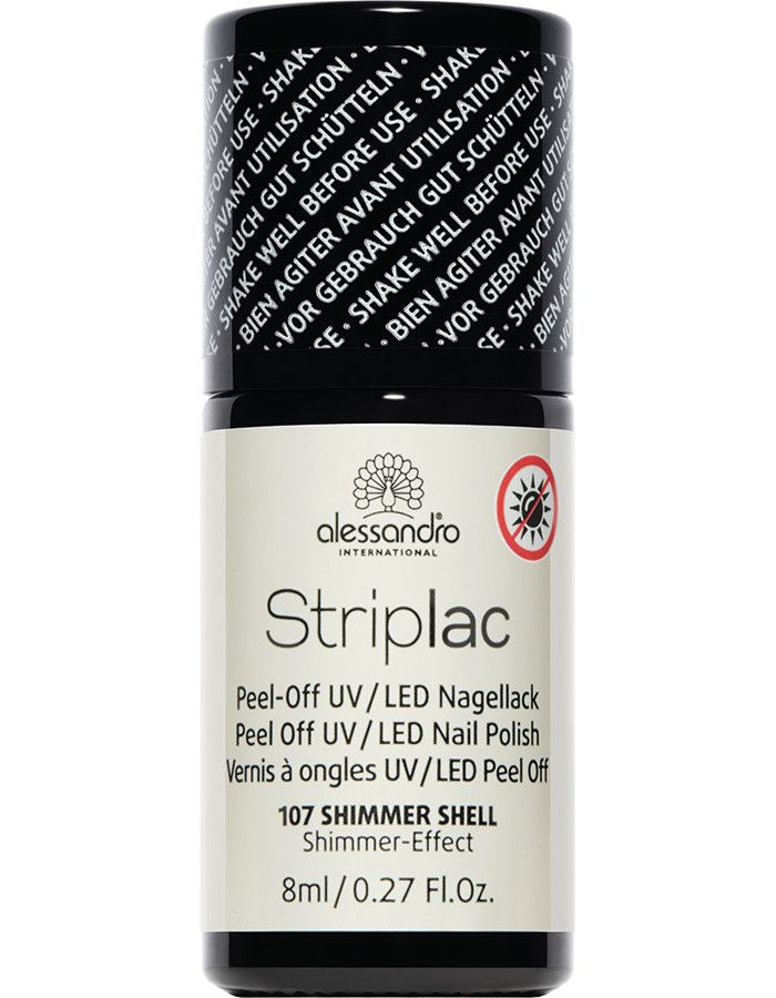 Alessandro Striplac 107 Shimmer Shell 8ml