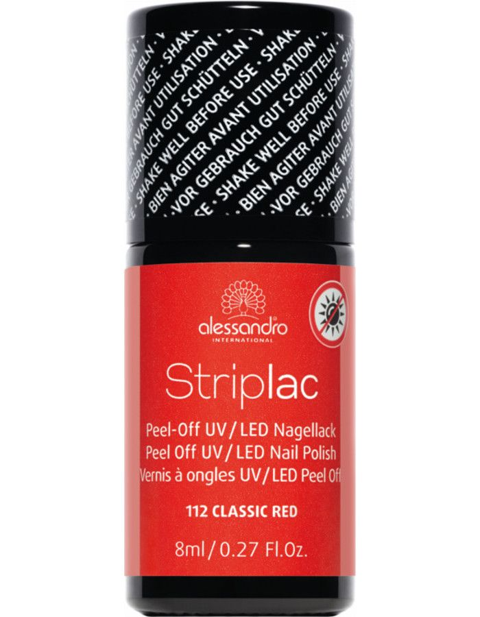Alessandro Striplac 112 Classic Red 8ml