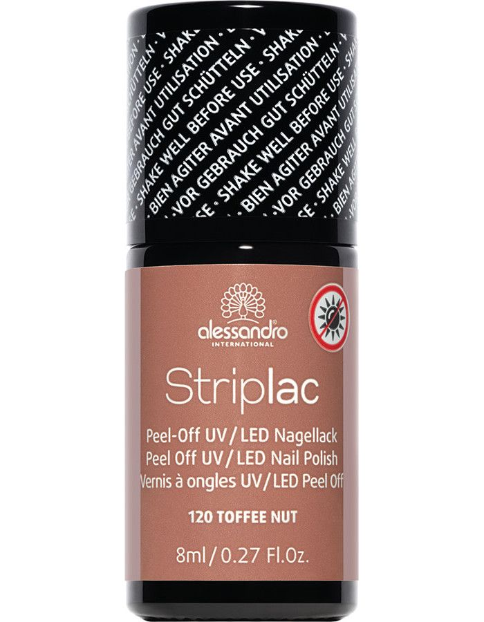Alessandro Striplac 120 Toffee Nut 8ml