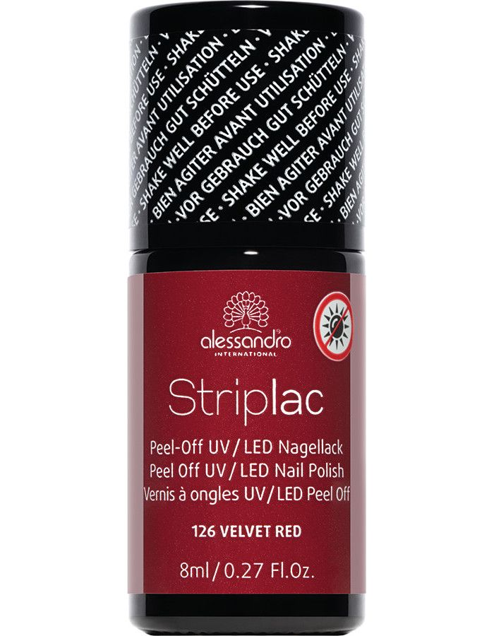 Alessandro Striplac 126 Velvet Red 8ml