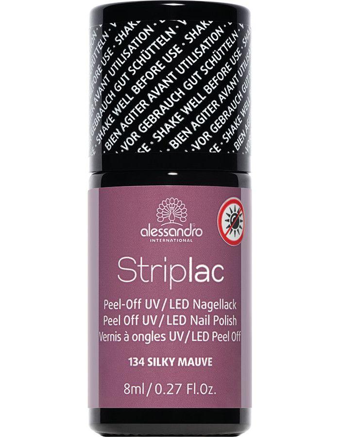 Alessandro Striplac 134 Silky Mauve 8ml