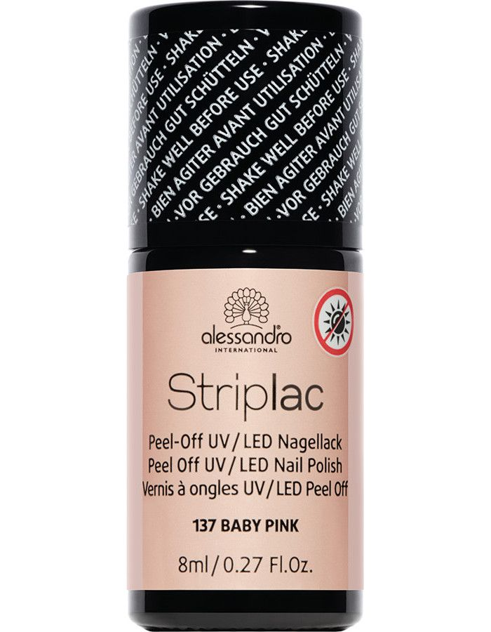 Alessandro Striplac 137 Baby Pink 8ml
