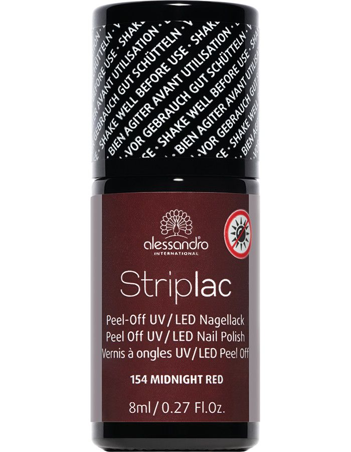 Alessandro Striplac 154 Midnight Red 8ml