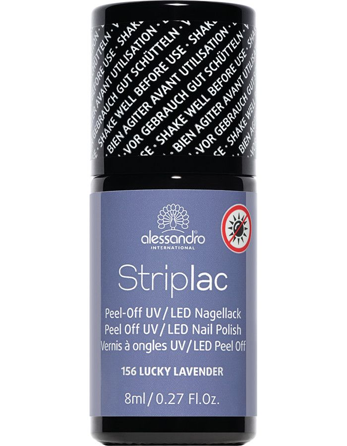 Alessandro Striplac 156 Lucky Lavender 8ml