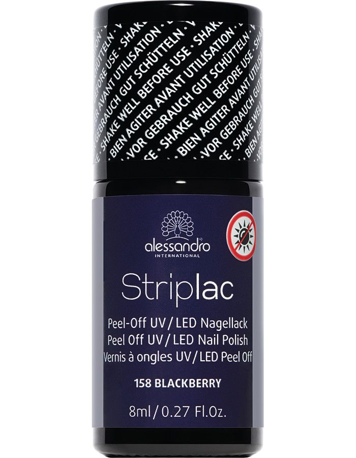 Alessandro Striplac 158 Blackberry 8ml
