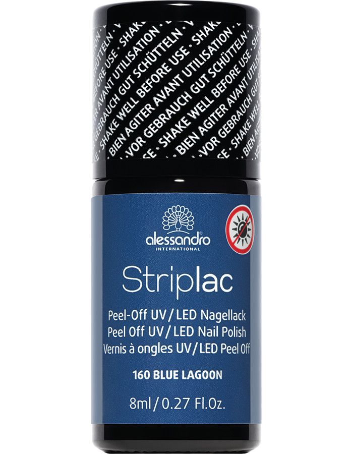 Alessandro Striplac 160 Blue Lagoon 8ml
