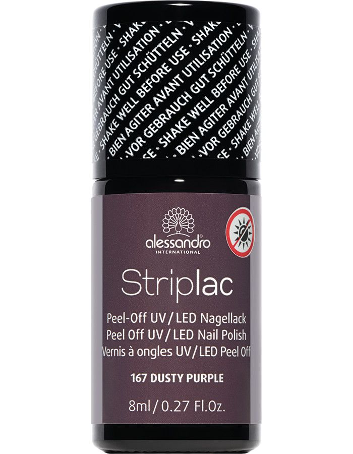 Alessandro Striplac 167 Dusty Purple 8ml
