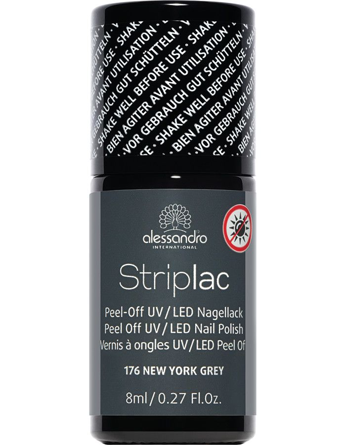 Alessandro Striplac 176 New York Grey 8ml