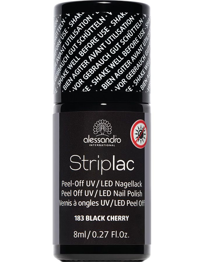 Alessandro Striplac 183 Black Cherry 8ml