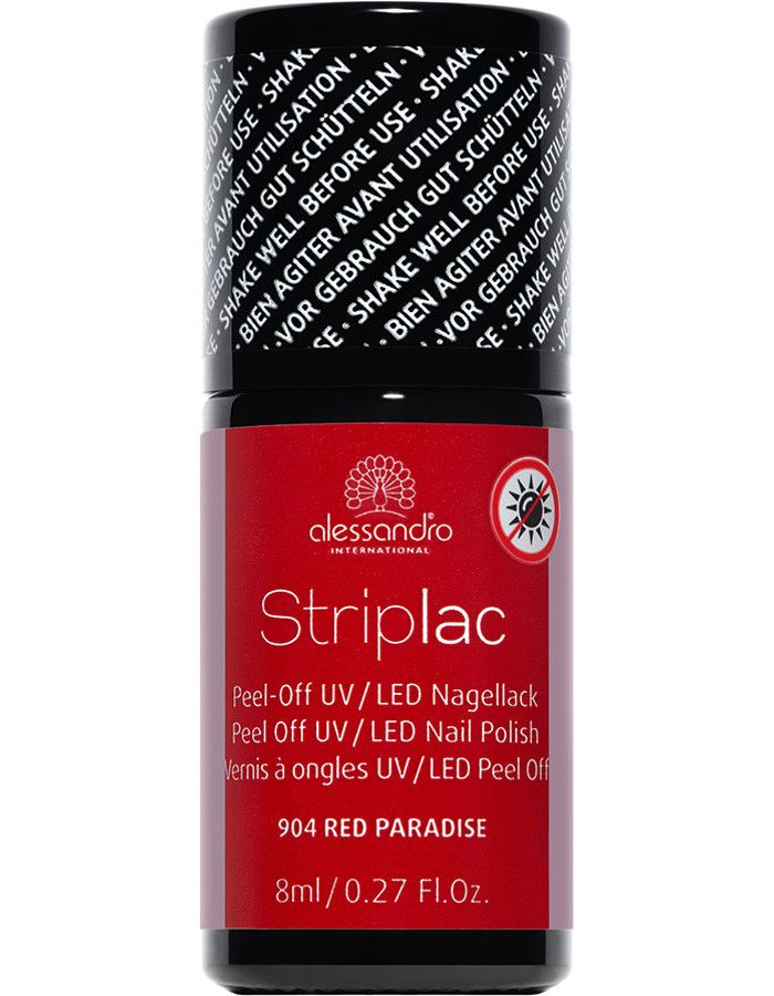 Alessandro Striplac 904 Red Paradise 8ml