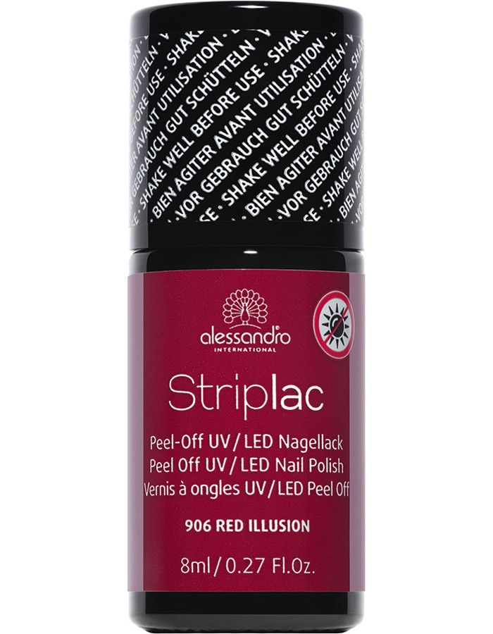 Alessandro Striplac 906 Red Illusion 8ml