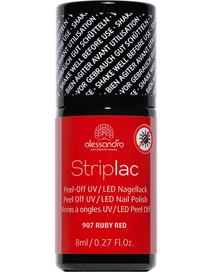 Alessandro Striplac 907 Ruby Red 8ml