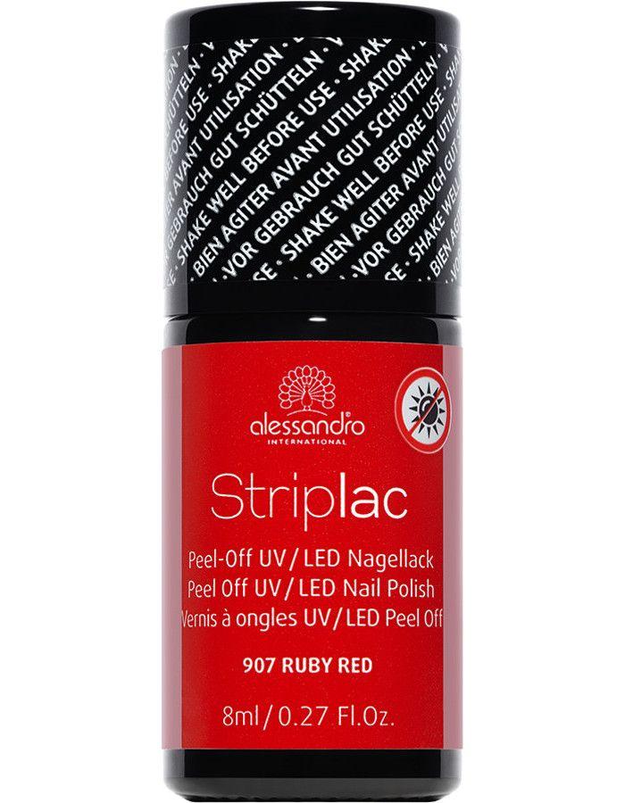 Alessandro Striplac 907 Ruby Red 8ml