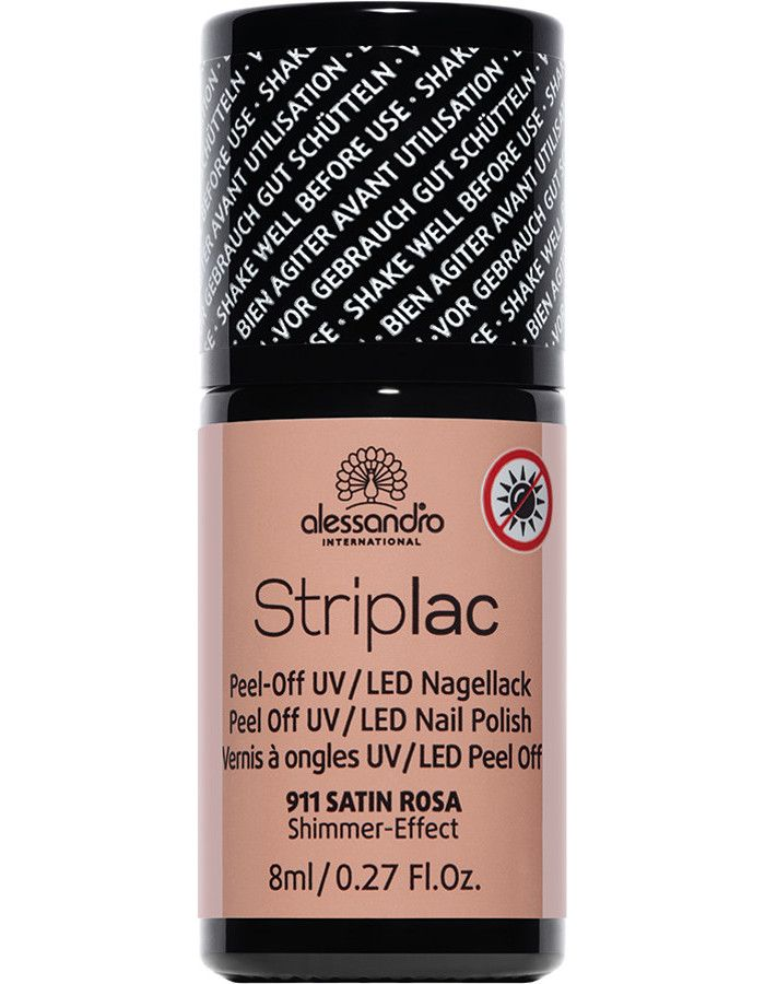 Alessandro Striplac 911 Satin Rosa 8ml