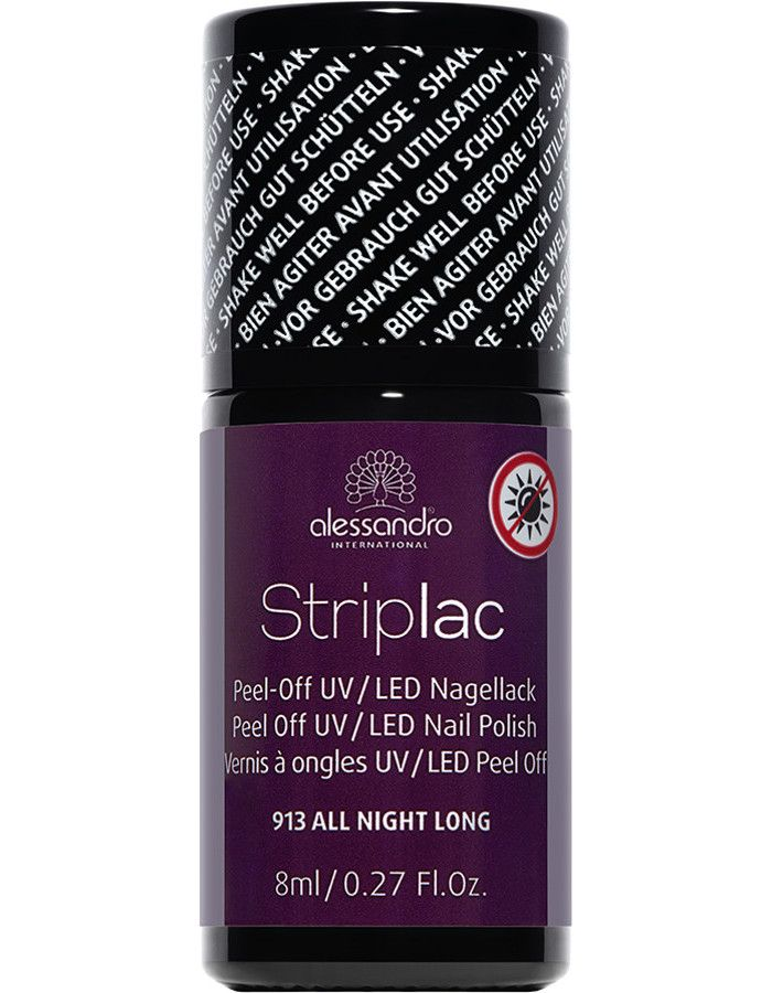 Alessandro Striplac 913 All Night Long 8ml